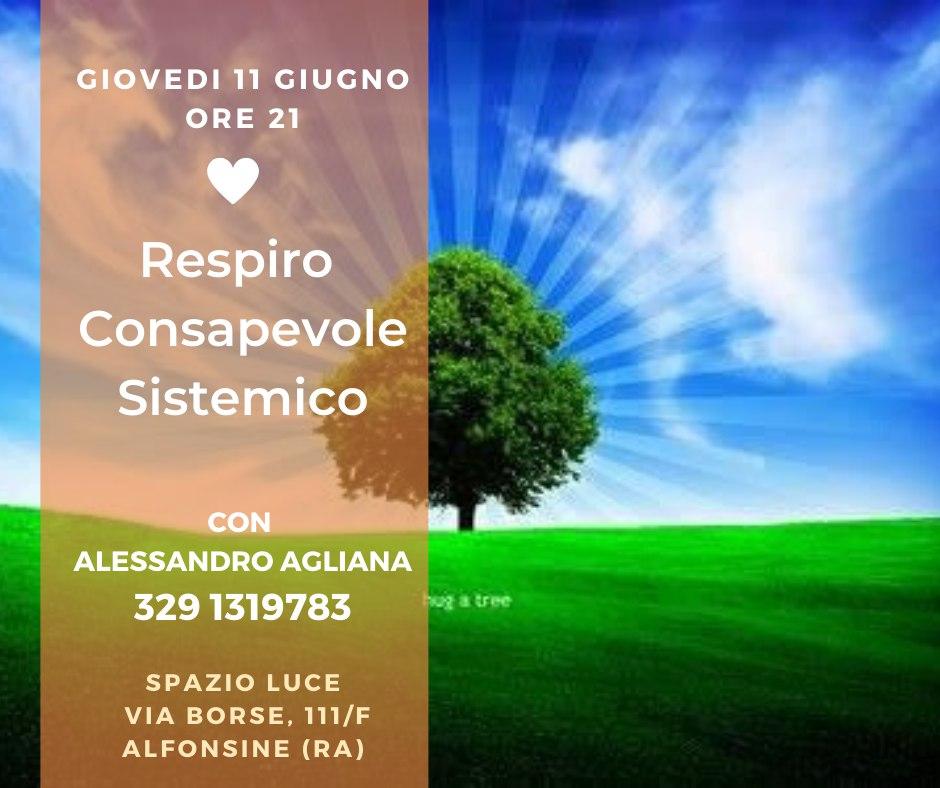 Respiro Respiro consapevole sistemico Alessandro Aglianaonsapevole sistemico Alessandro Agliana